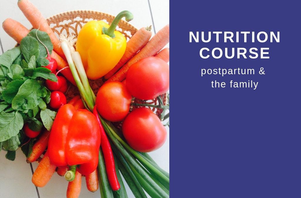 Sleeptastic Nutrition – Postpartum & the Family
